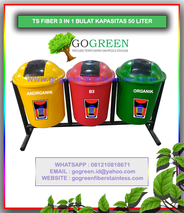 Mencari yang Jual Tempat Sampah fiber di Padang Dimana yah ...