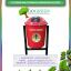 jual tempat sampah fiber bulat single kapasitas 50 liter tiang geser atau pindah, jual tong sampah fiberglass, organik dan anorganik, aneka warna